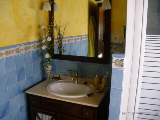 Cuarto de baño en casa de campo