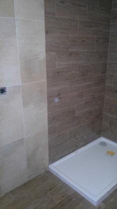 Un baño hecho y diseñado por nosotros.