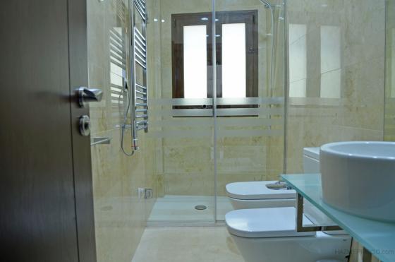 Reformas de baños ( Cambio de bañera por plato de ducha + mamparas, sanitarios, alicatados, etc.... )