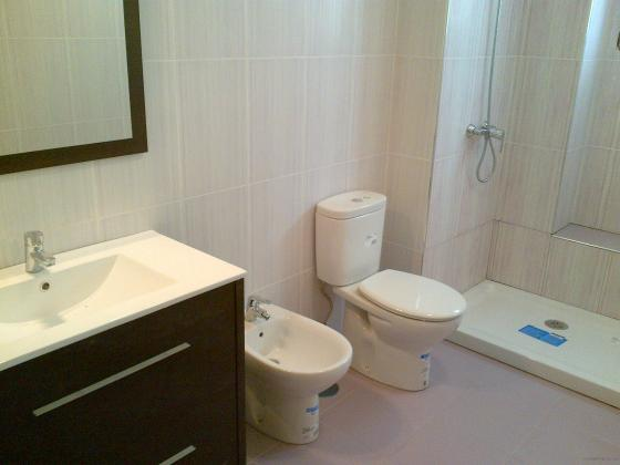 baño ya reformado