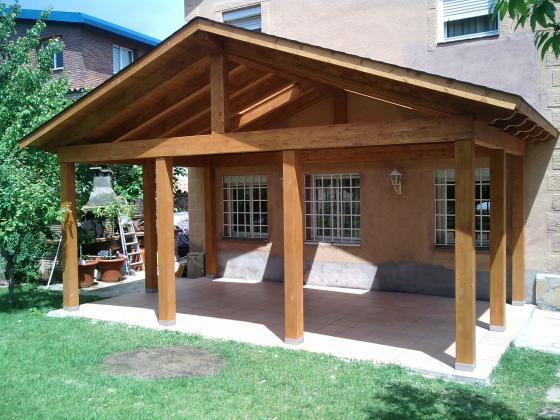 Acobert 08140 caldes de montbui barcelona for Tejados de madera a dos aguas
