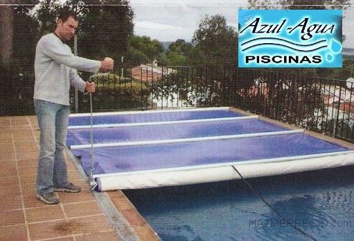Piscinas azul agua 17404 riells i viabrea girona for Cubierta de piscinas precios