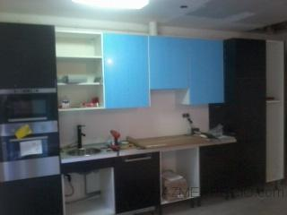colocacion de mobiliario de cocina