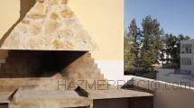 Barbacoa de leña construida por Pronua