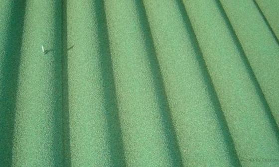 Solución en cubierta de Uralita con asbestos mediante encapsulado.