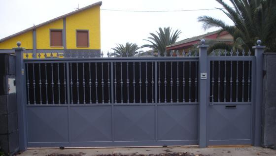 Talleres zubieta 31514 valtierra navarra for Puertas correderas de forja