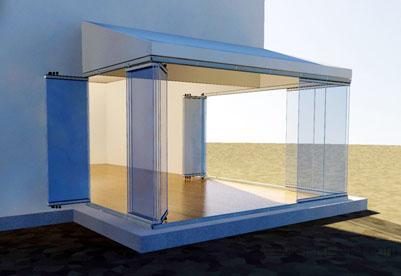 cristaleria tajo cortina de cristal