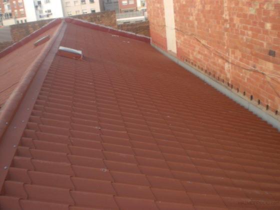 Pluvialtex s l 08225 terrassa barcelona - Cubiertas imitacion teja ...