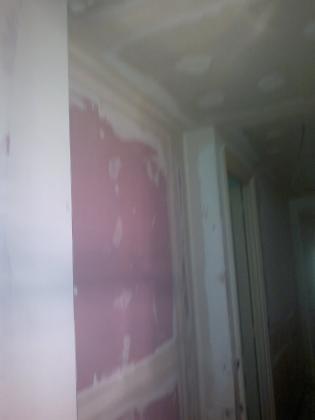 tabique proptrccion al fuego y techo pladur