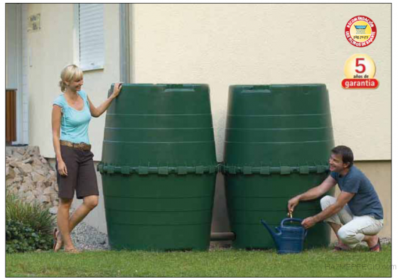 deposito agua de lluvia top tank