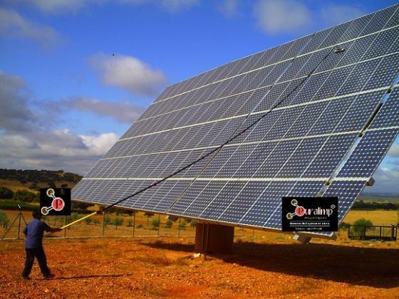 Sistema de limpieza de cristales y fachadas en altura 28950 moraleja de enmedio madrid - Energia solar madrid ...