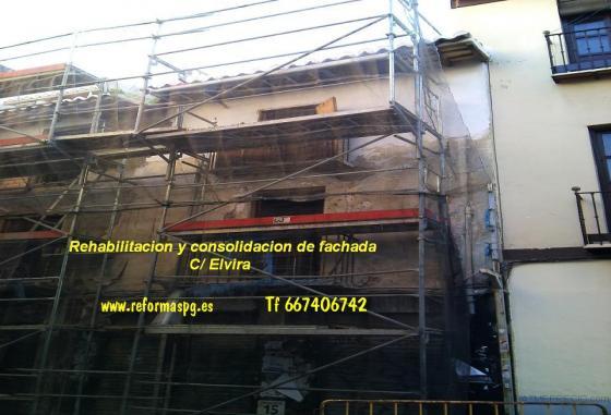 rehabilitacion de un edificiio c/ Elvira  elvira