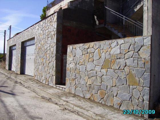 Colocacion piedra 08242 manresa barcelona - Aplacado piedra fachada ...
