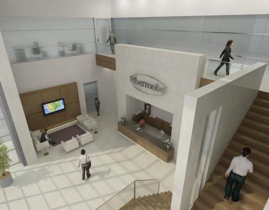 Hall oficinas fabrica de muebles