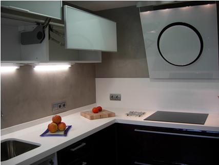 Nou habitat reformas construcci n decoraci n 46009 - Cocinas de microcemento ...
