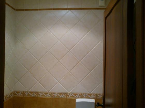 alicatado en cartabon rustico de baño
