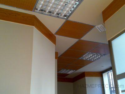 techo madera y fajas