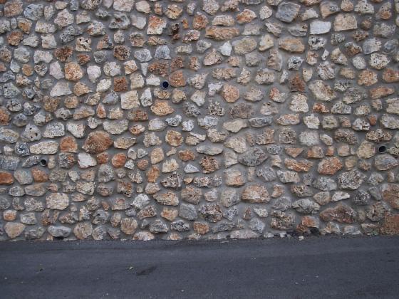 muro de contencion de mamposteria