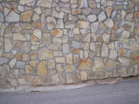 chapado de piedra caliza