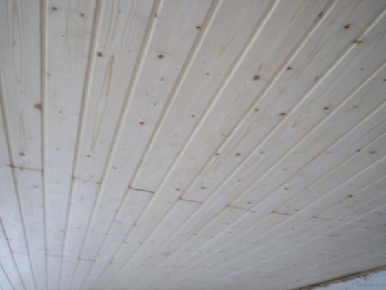 techo machimbrado