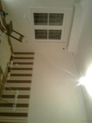 Alisado, pintura y empapelado salón