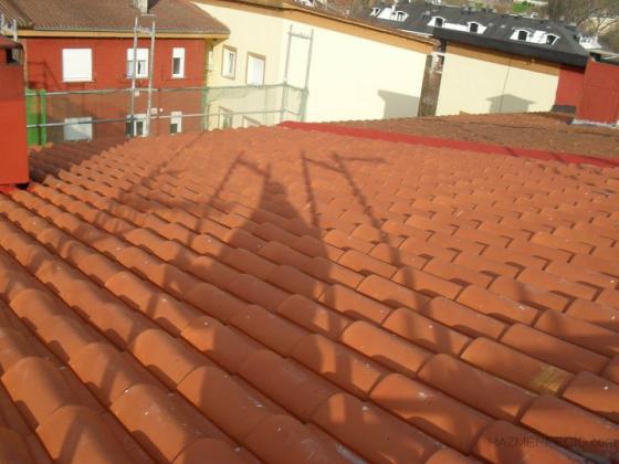 aguada acabada de tejado