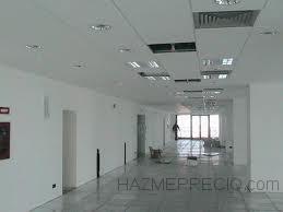 techo escayola y paredes lisas