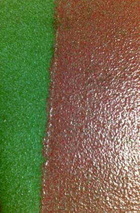 suelo de resinas en parking publico 4 plantas paseo castellana y de real madrid con pintura poliuretano con catalisator en colores gris,verde y balanco