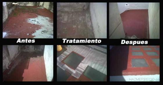 Impermeabilizaciones de azoteas, techos, suelos y fachadas Repar2000.