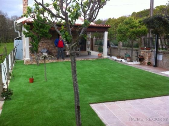 cesped artificial jardines