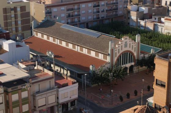 Rehabilitación mercado Nules (Castellón)