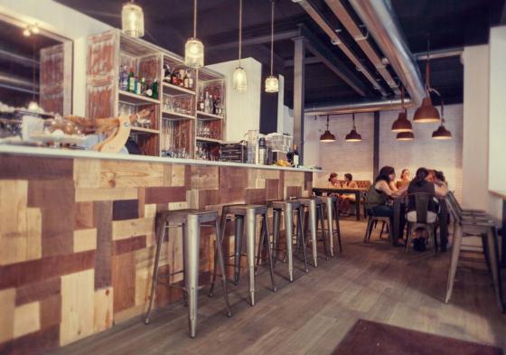 Interiorismo y obra de reforma cafetería