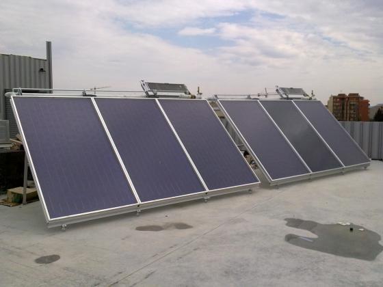 Placas solares Escuela de Hostelería