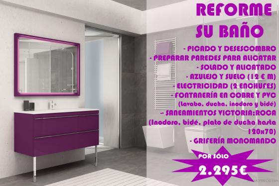 Dereformas reformas integrales en legan s cocinas y - Oferta reforma bano ...