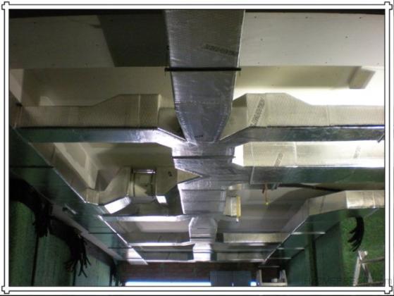 Fabricacion y montaje de conductos de fibra de vidro Climaver.