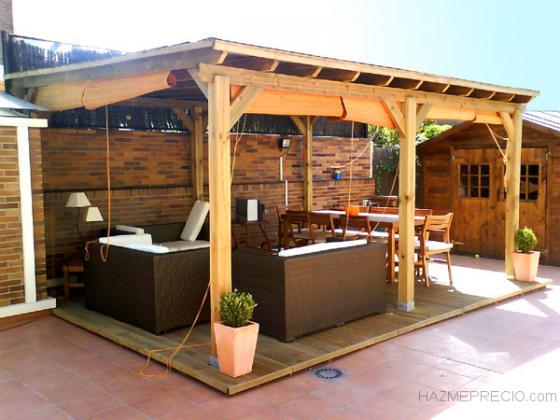 Toldospergolasycanalones 28045 madrid madrid - Pergolas de madera en sevilla ...
