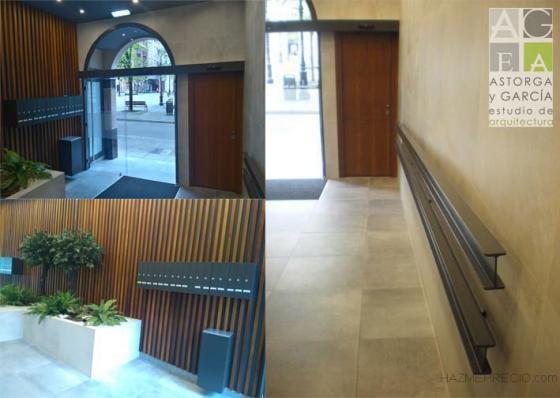 Reforma portal accesibilidad Gijón