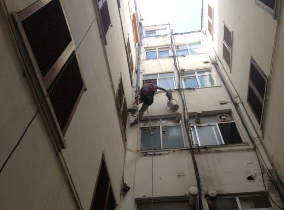 Precios para la rehabilitaci n de una fachada valencia - Trabajos verticales en palma ...