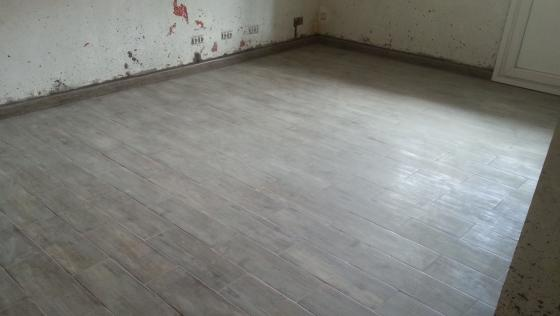 Reforma de cocina, baño y suelo de baldosa imitacion a madera en ...