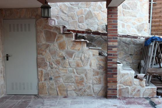 Chapado de piedra natural materiales de construcci n para la reparaci n - Colocacion piedra natural ...