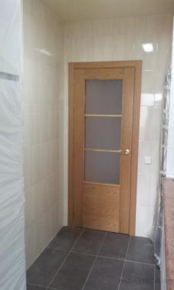 detalle alicatado solado y puerta cocina