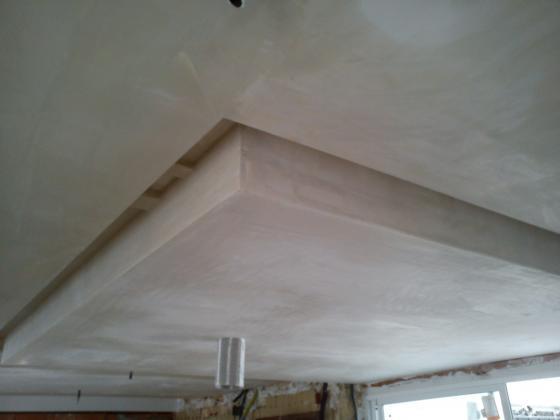 Reforma de cocina instalaci n de techo con luz indirecta catarroja valencia - Luz indirecta techo ...