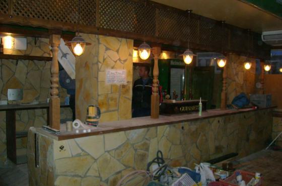 Construccion de restaurante tematico utebo zaragoza for Fabricacion de bares de madera