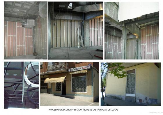 EJECUCION DE LA OBRA CON IMPLANTACION DE LA INSONORIZACION,DETENCION,SISTEMAS DE EXTINCION, DISTRIBUCION