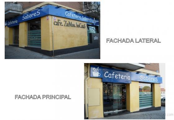 VISTA DE LAS FACHADAS SEGUN PROYECTO