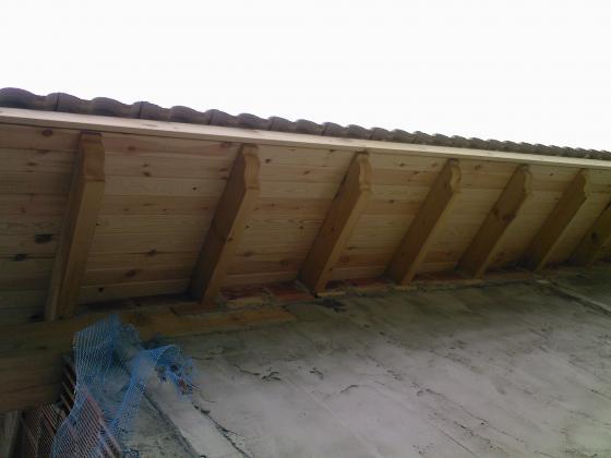 Cubierta de madera en vivienda unifamiliar muskiz for Tejado madera maciza