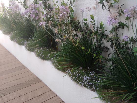 jardineras exterior diseo de patios exteriores sant feliu de llobregatbarcelona - Jardineras Exterior