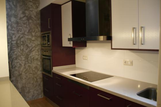 Reforma de cocina barcelona barcelona for Mueble columna cocina