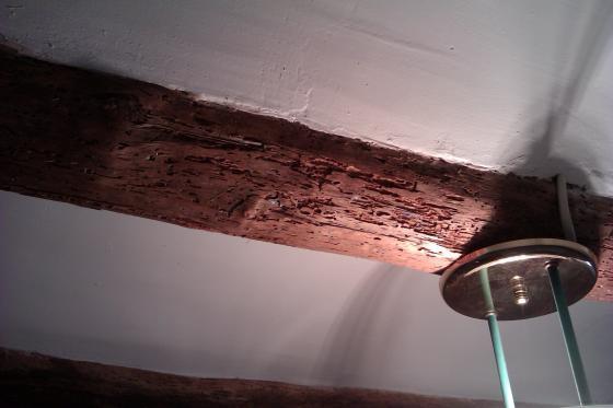 Restauracion de vigas de madera tortosa tarragona for Restauracion tejados de madera
