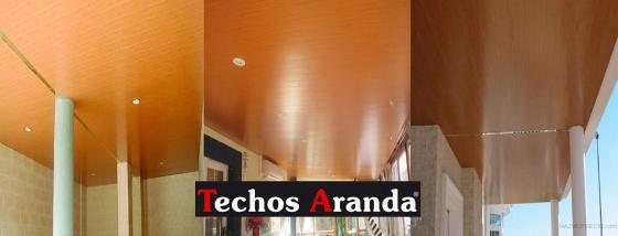 Imágenes de techo aluminio. Calidad certificada para garantizar las mejores prestaciones, resistencia y durabilidad en sistema y acabados.